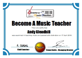 Music Teacher Training Course